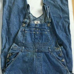 Nevada Jeans - Nevada Jeans Women's Overalls 30X26  Carpenter Lge